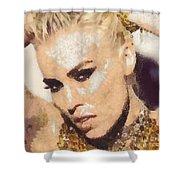 Natasha Bedingfield-bam Shower Curtain