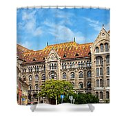 National Archives Of Hungary Shower Curtain