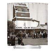 National Cash Register Shower Curtain