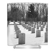 National Cemetery   # Shower Curtain
