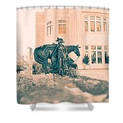 National Cowgirl Museum V2 Shower Curtain