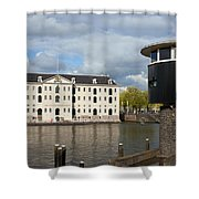 National Maritime Museum In Amsterdam Shower Curtain