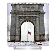 National Memorial Arch Shower Curtain