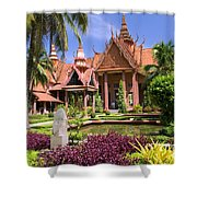 National Museum In Phnom Penh Shower Curtain
