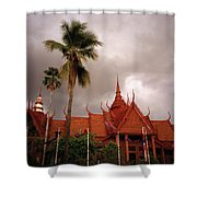 National Museum Of Cambodia Shower Curtain