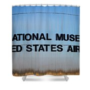 National Museum United States Air Force Shower Curtain