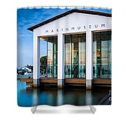 National Naval Museum Shower Curtain