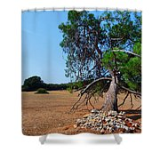 National Park Islands Of Brijuni Shower Curtain