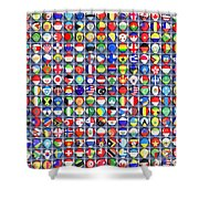 Nations United Shower Curtain