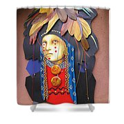Native American Artwork Shower Curtain