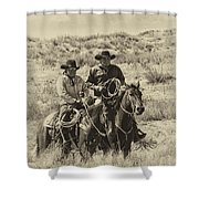 Native American Cowboys Shower Curtain