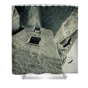 Native American Dwelling Shower Curtain