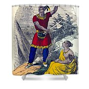 Native American Indian Chief Shower Curtain