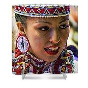 Native American Princess Shower Curtain