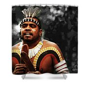 Native Australian Shower Curtain