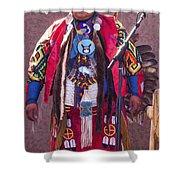 Native Hoop Dancer Shower Curtain