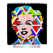 Native Icon Shower Curtain