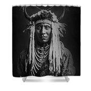 Native Man Circa 1900 Shower Curtain