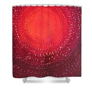 Native Sun Original Painting Shower Curtain