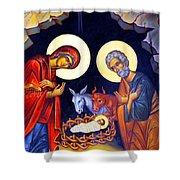 Nativity Feast Shower Curtain