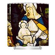 Nativity Shower Curtain by Robert Anning Bell