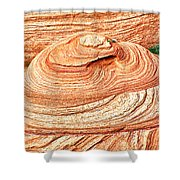 Natural Abstract Canyon De Chelly Shower Curtain