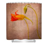 Natural Aliens  Shower Curtain