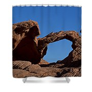 Natural Arch Valley Of Fire State Park Nevada Shower Curtain