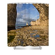 Natural Arches  Shower Curtain