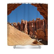 Natural Archway - Bryce Canyon Shower Curtain
