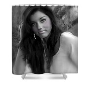 Natural Beauty Shower Curtain
