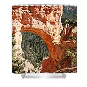 Natural Bridge  Bryce Canyon Shower Curtain