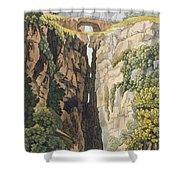 Natural Bridge, Valle Dicononzo Shower Curtain
