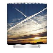 Natural Exaltation Shower Curtain