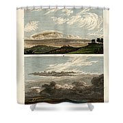 Natural History Of The Clouds Shower Curtain