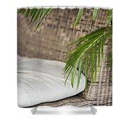 Natural Materials Furniture Detail Shower Curtain