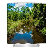 Natural Overgrowth Shower Curtain