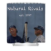 Natural Rivals Shower Curtain