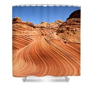 Natural Waves Shower Curtain