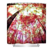 Naturally Pink Shower Curtain