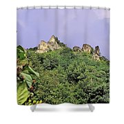 Nature And Medieval Ruins Shower Curtain