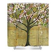 Nature Art Landscape - Lexicon Tree Shower Curtain
