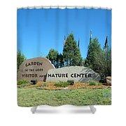 Nature Center Shower Curtain