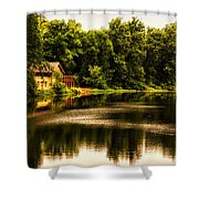 Nature Center Salt Creek In August Shower Curtain