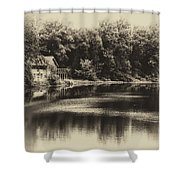 Nature Center Salt Creek In Heirloom Finish Shower Curtain