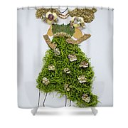 Nature Fairy Shower Curtain