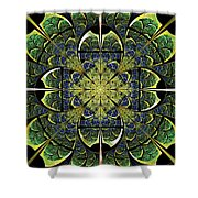 Nature Gates Shower Curtain