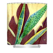 Nature Imitates Art Shower Curtain