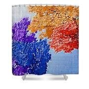 Nature In Its New Colors Shower Curtain