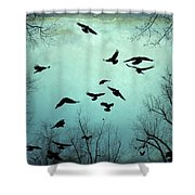 Nature In Motion Shower Curtain